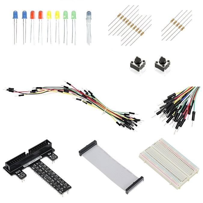 Canakit Raspberry Pi Gpio Breakout Board Amp Ribbon Cable
