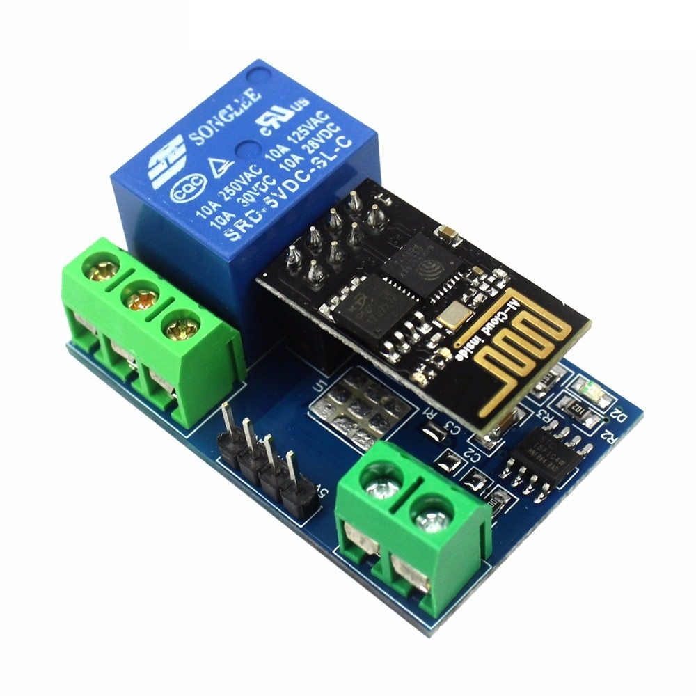 Módulo Wifi Esp8266 Esp 01 Con Relay