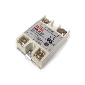 Módulo Relevador de Estado Solido SSR-40DD – 5~110VDC