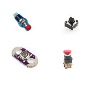 Botones e Interruptores de Pulso/Presión
