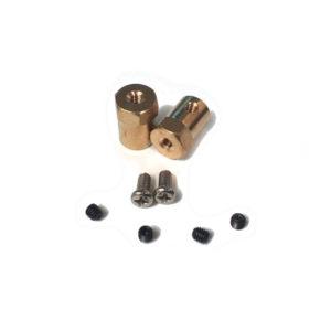 Adaptador Hexagonal para Eje de Motor – 8mm (Par)