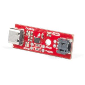 """Cargador de Baterías LiPo de 3.7V con Conector USB tipo """"C"""""""