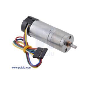 99:1 Motorreductor Metálico 25DX69Lmm HP con Encoder – 12V
