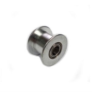 Polea de Aluminio 20T, 10W con Baleros de 5mm