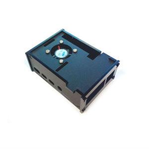 Case Protector Para Raspberry Pi 4 Con Ventilador Y Disipadores – Negro
