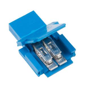Conector Clincher Amphenol FCI (2 Pines, Hembra)