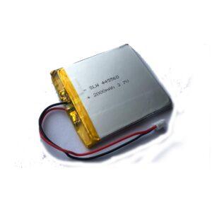 Batería LiPo 3.7 V, 2000mAh 1S1P 2C (7.4W)