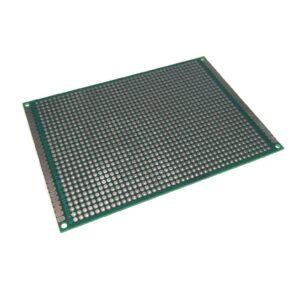 Placa Fenolica Perforada con Doble Cara 8x12cm