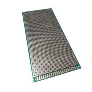 Placa Fenolica Perforada con Doble Cara 10x22cm