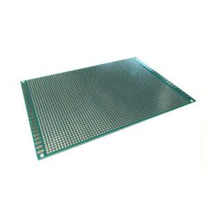 Placa Fenolica Perforada con Doble Cara 12x18cm