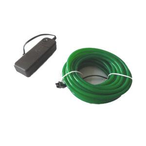Cable Electroluminiscente 5 Metros – 5mm (Verde)