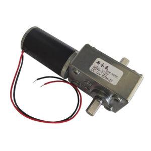 Motorreductor Gusano de Doble Eje 5840-31ZY – 27 RPM