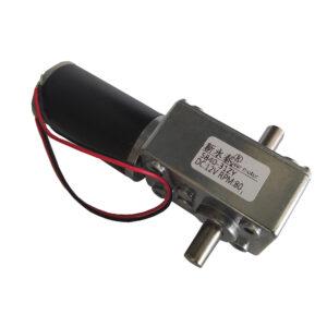 Motorreductor Gusano de Doble Eje 5840-31ZY – 80 RPM