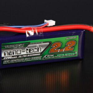 Batería LiPo Turnigy nano-tech 2200mAh 2S 35~70C