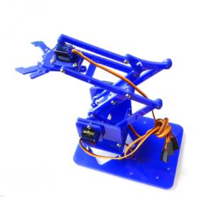 Kit de Brazo Robot de Acrílico 4DOF – SNAM1200 (Azul)